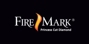 """FireMark diamonds are never cut to maximize the weight of a diamond. They're always cut to maximize beauty. This assures maximum brilliance, fire and sparkle. Look for the FireMark® logo inscribed on your diamond's girdle to assure this is truly a FireMark Princess Cut Diamond. <br><br> """"Look into her eyes and tell her with absolute confidence, these are the most perfectly cut Princess Diamonds in all the world."""""""