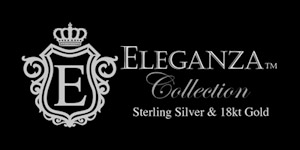 Eleganza presents an esquiste collection of sterling silver jewelry, accented with rich 18k gold and bejewelled with genuine stones. As affordable as it is stylish, each piece features precision craftsmanship and attention to every detail. Eleganza is sure to become your favorite designer collection.