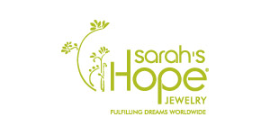 Sarah's Hope Jewelry uses ultimate-grade .925 sterling silver for each piece and then plates it with rhodium to add durability and resist tarnishing - so maintaining its brilliant shine requires no polishing. The proprietary stone, E'Sperene, is a composite that combines quartz crystals with metal oxides to create exceptionally vibrant colors that shift dynamically as they reflect light. This makes each stone as unique as the person who wears it. Fair trade manufacturing practices are an important component of Sarah's Hope Jewelry, so that every person who crafts the jewelry is treated with respect and paid fairly.