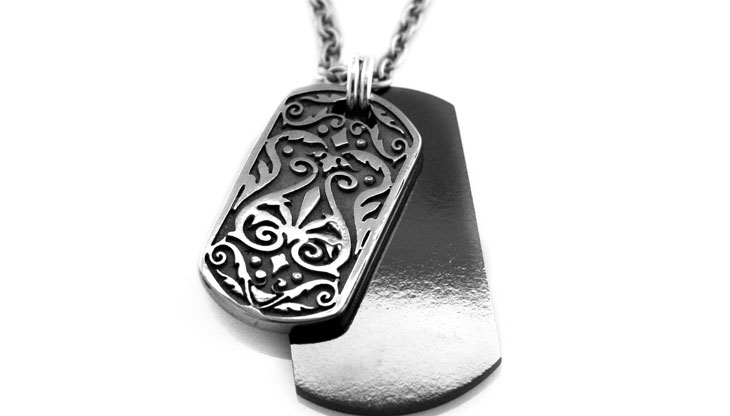Edward Mirell - 252_edward-mirell_black-titanium-and-gray-titanium-necklace_n3152o-00000_l.jpg - brand name designer jewelry in Richfield, Minnesota