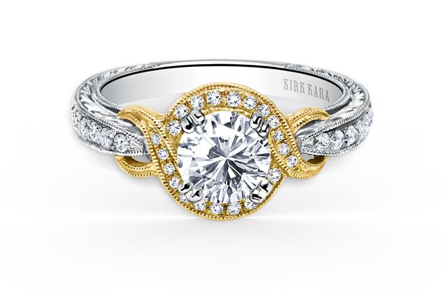 Kirk Kara - K150R65RWY.jpg - brand name designer jewelry in Elmhurst, Illinois