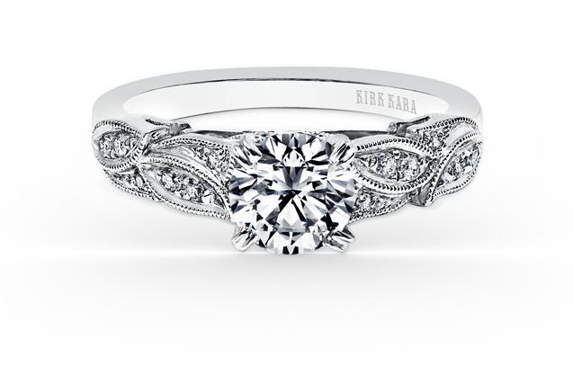 Kirk Kara - K156R.jpg - brand name designer jewelry in Elmhurst, Illinois