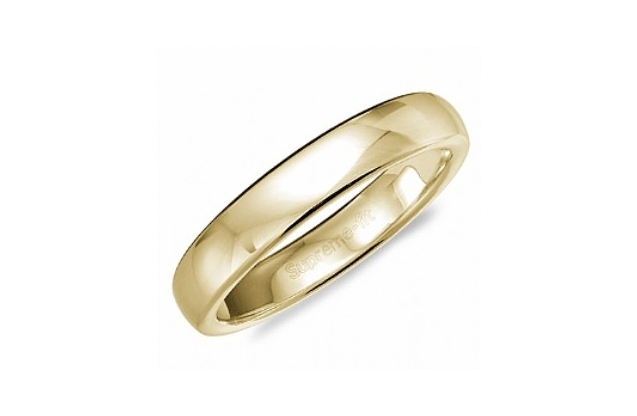 Crown Ring Wedding Bands - TDS14Y5-c.jpg - brand name designer jewelry in Oceanside, New York
