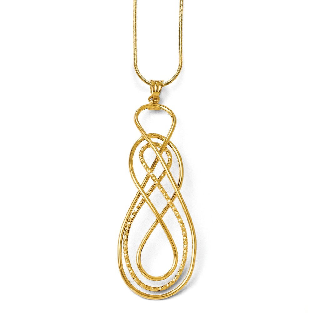 Leslie's - leslies-gold-pendant-LF195.jpg - brand name designer jewelry in Conroe, Texas