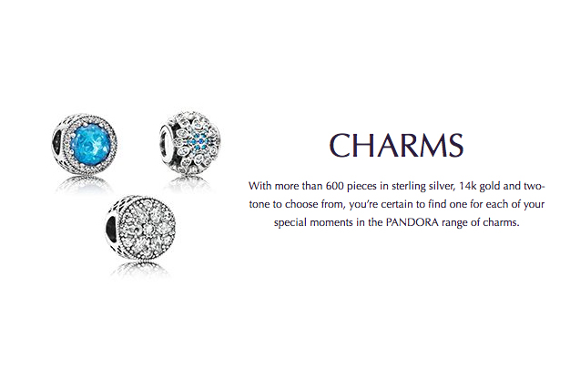 Pandora - pandora-charms.jpg - brand name designer jewelry in Enumclaw, Washington
