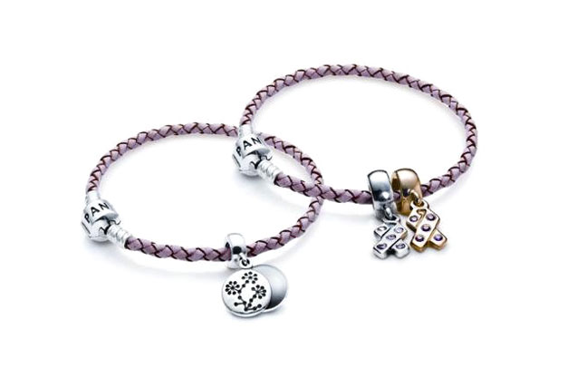 Pandora - pandora-pink-bracelets-enhancery.jpg - brand name designer jewelry in San Diego, California