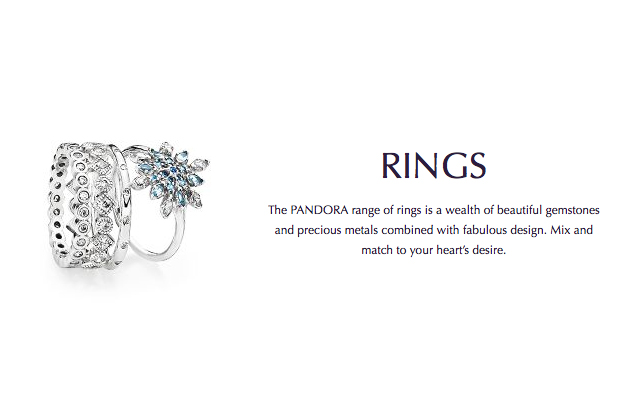 Pandora - pandora-rings.jpg - brand name designer jewelry in Enumclaw, Washington