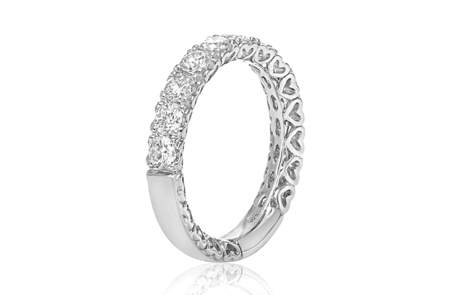 Roman + Jules - roman_and_jules_BR548WB-1_WHITE_WEDDING_BAND.jpg - brand name designer jewelry in Wilmington, North Carolina