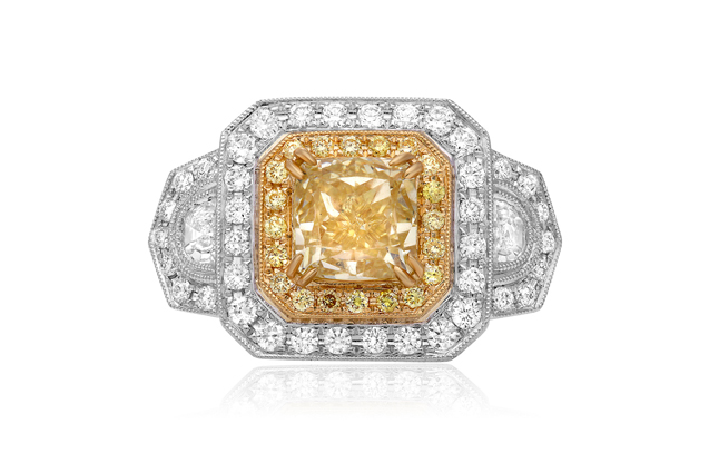 Roman + Jules - roman_and_jules_NR611-1_WHITE_YELLOW_GOLD_18K_RING.jpg - brand name designer jewelry in Wilmington, North Carolina