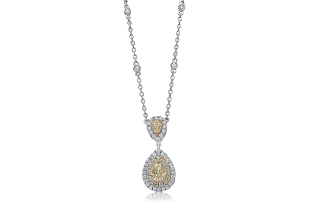 Roman + Jules - roman_and_jules_Pear_Shaped_Diamond_Necklace.jpg - brand name designer jewelry in Wilmington, North Carolina