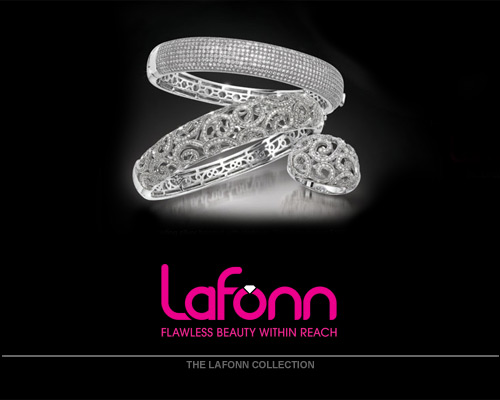 Lafonn offers extravagant handcrafted designs in sterling silver, handset with the world�s finest simulated diamonds. Unsurpassed quality and dazzling perfection are the foundation of Lafonn's brilliance and fire. As a design house and manufacturer with over 30 years of experience in the art of fine jewelry, Lafonn is proud to offer our collection of couture sterling silver jewelry. The moment you touch and handle our jewelry, you will experience the difference. Lafonn products give the opportunity to own a beautiful, well made piece of jewelry at a price that is within reach.