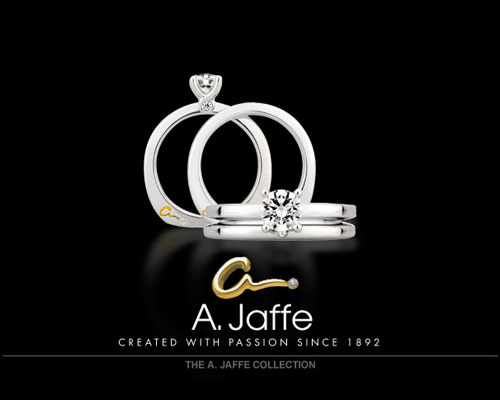 A. Jaffe is world-renowned for high-quality metals and stones, as well as flawless ring designs. It's no wonder -- the New York-based company has been bejeweling the fingers of brides since 1892. Each gold or platinum engagement, wedding and anniversary ring is individually designed and handcrafted to perfection. An A. Jaffe ring is a piece that will be treasured now and forever. For more information, visit www.ajaffe.com.