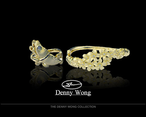 Award-winning designer, Denny Wong, who has been recognized for his fine work by the Hawaii Jewelers Association, started designing jewelry in 1981. The hallmark of all his pieces are workmanship, detail and quality. His innovative creations have won numerous awards and have been featured in newspaper and international jewelry magazines. <br><br>Denny has made Hawaii his home since 1974 and through his passion of jewelry design and love for the islands, he has created many fine lines of jewelry associated with Hawaii. His executive line of Hawaiian jewelry has pleased many patrons. O...