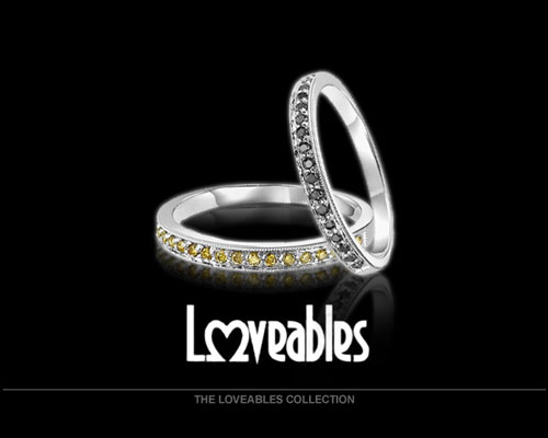 Loveables is a collection of rings that can be stacked together for the perfect variety of fashion.
