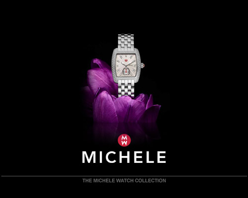 Capturing the vibrant Miami lifestyle, MICHELE timepieces combine luxury with glamorous style. 