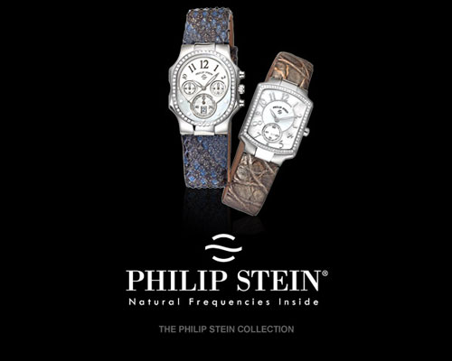Founded in 2002, the Philip Stein Company has brought an innovative outlook to the world of luxury products. By integrating Frequency Technology in the company's extensive collection of watches, Philip Stein has successfully combined the principles of overall wellbeing with a distinctive watch design. As the Philip Stein Company continues its research into this life-changing technology, Will and Rina remain eager and committed to developing products that will enhance people's quality of life.