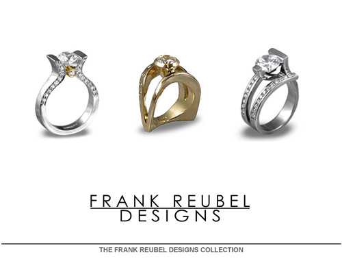 When you buy a piece from Frank's collection you quickly recognize his many years of experience and his passion for the art. He was among the first to introduce semi-precious stones into sterling silver. Frank helped to develop the French wire earring while living in Woodstock, New York in the late 1970's. His pieces show the varied creative skills he has acquired along the way; artist, film maker, photographer as well as a respected designer of fine jewelry.
