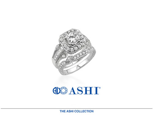 Ashi Diamonds offers a dazzling range of exquisitely crafted fine jewelry featuring their signature engagement rings and bridal sets as well as contemporary diamond and colored stone jewelry designs. Ashi's exciting collection includes a wide array of beautiful rings, earrings, necklaces, pendants and bracelets that are proven best sellers - and every Ashi jewelry piece exhibits our unparalleled attention to craftsmanship combined with superior design.