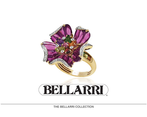 The Mademoiselle Collection by Bellarri enchants and captivates the senses with its gracious style and majestic alignment of the world's finest multi color gemstones. You make the memories... Bellarri keeps them alive.