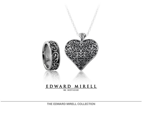 Edward Mirell is the founder and global leader of contemporary metals jewelry, blending a passion for design with the latest technology to create unique jewelry accessories. The line specializes in award-winning titanium pieces, implementing patented technology to create unique designs, colors and styles. <br><br>All Edward Mirell products are designed, engineered and manufactured in the USA at its South Florida facility.