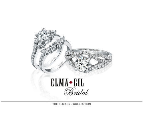 Elma-Gil offers diamond and colored stone fashion jewelry in 18 karat gold or platinum. Employing state-of-the art diamond cutting, casting and setting techniques, coupled with meticulous craftsmanship and a ten-stage quality control process, have earned us the reputation of America's premier jewelry manufacturer. With expert precision, we set only diamonds and colored stones which are cut to perfect proportions, all carefully matched for exact shape, color and clarity. At Elma-Gil, perfection is an obsession.