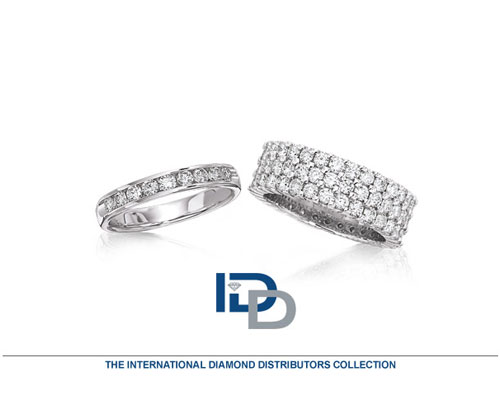 IDD is best known for its diamond stud earrings. IDD also has one of the strongest machine set band programs in the industry. All machine set bands are made in USA with a quick delivery turn around time of 7-10 business days.