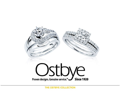 Ostbye, a prime manufacturer, has been serving the jewelry industry since 1920. Throughout this time, Ostbye has remained committed to its mission of providing the best customer experience through unparalleled service, quality, and value. Ostbye's comprehensive collections include bridal jewelry, anniversary bands, Reflections of Color®, men's diamond jewelry, and family jewelry.